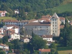 Eglise Saint-Martin - L'église Saint-Martin de Sare (Pyrénées-Atlantiques, Aquitaine, France).
