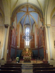 Eglise Saint-André - This building is indexed in the Base Mérimée, a database of architectural heritage maintained by the French Ministry of Culture,under the reference PA00084526 .
