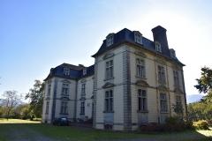 Château de Trois-Villes dit «d'Eliçabea» - Français:   Château d\'Eliçabéa jardin, parc, élévation, toiture