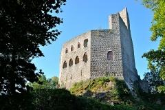 Ruines du château de Spesbourg - Français:   Château du Spesbourg ruines