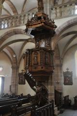 Ancienne résidence abbatiale dite hôpital Stolz-Grimm - Deutsch: Andlau, Kirche St.-Pierre-et-St.-Paul, Kanzel