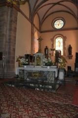 Ancienne résidence abbatiale dite hôpital Stolz-Grimm - Deutsch: Andlau, St.-Peter-et-Paul-Kirche