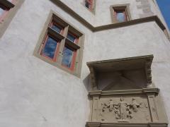 Ancien Hôtel d'Andlau -  Alsace, Bas-Rhin, Andlau, Hôtel d'Andlau (1582) dit