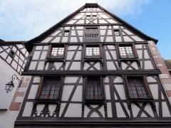 Maison -  Alsace, Bas-Rhin, Andlau, Ancien hôtel d'Andlau (1573-1647), 17 rue du Docteur-Stoltz (PA00084590, IA00115016).