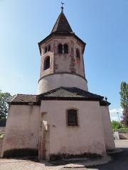 Ancien baptistère dit chapelle Saint-Ulrich -  Alsace, Bas-Rhin, Avolsheim, Chapelle Saint-Ulrich dit
