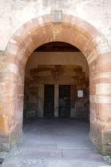 Eglise Dompeter - Français:   Alsace, Bas-Rhin, Avolsheim, Molsheim, Église Saint-Pierre dite Dompeter (PA00084594, IA67006175).  Porche roman.