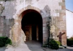 Eglise Dompeter -  Alsace, Bas-Rhin, Avolsheim, Molsheim, Église Saint-Pierre dite Dompeter (PA00084594, IA67006175).