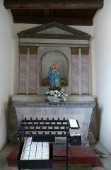 Eglise Dompeter - Alsace, Bas-Rhin, Avolsheim, Molsheim, Église Saint-Pierre dite Dompeter (PA00084594, IA67006175).   Autel secondaire