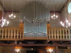 Eglise protestante (ancienne église catholique) -  Alsace, Bas-Rhin, Baldenheim, Église protestante (PA00084595, IA67010725).   Orgue Muhleisen-Walther (1964): http://decouverte.orgue.free.fr/orgues/Orgue Église protestante, Baldenheim