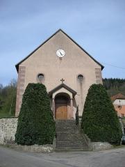 Eglise protestante de Fouday -  Eglise protestante de Fouday (Bas-Rhin, Alsace)