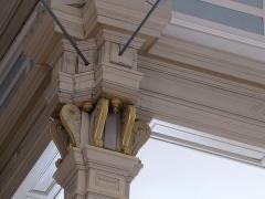 Eglise protestante -  Alsace, Bas-Rhin, Barr, Église protestante Saint-Martin (PA00084598, IA00115060): Chapiteau de colonne.