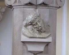 Eglise protestante -  Alsace, Bas-Rhin, Barr, Église protestante Saint-Martin (PA00084598, IA00115060): Relief