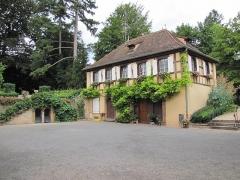 Ancien Hôtel Marco -  Alsace, Bas-Rhin, Barr, Hôtel Folie Marco (XVIIIe), aujourd'hui musée, 30 rue du Docteur-Sultzer (PA00084599, IA00115077).