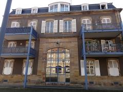 Centre de fermentation des tabacs -  Alsace, Bas-Rhin, Benfeld, Ancien édifice industriel