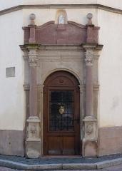 Hôtel de ville -  Alsace, Bas-Rhin, Benfeld, Hôtel de Ville (1619), place de la Mairie (PA00084605, IA00023505).
