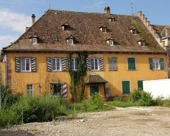 Ancien relais de poste à chevaux -  Alsace, Bas-Rhin, Benfeld, Ancien relais de poste (XVIIIe), 2 rue de Strasbourg (PA00084608, IA00023531).