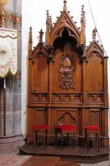 Eglise catholique Notre-Dame - This object is indexed in the base Palissy, database of the French furniture patrimony of the French ministry of culture,under the referenceIM67001442.