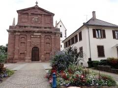 Eglise protestante -  Alsace, Bas-Rhin, Église protestante de Notre Seigneur Jésus-Christ de Bischheim (PA00084621).