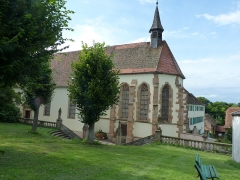 Couvent de Bischenberg (église catholique Notre-Dame) - Chapelle du couvent du Bischenberg (XVIe siècle)