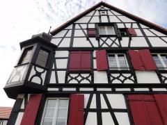 Ancienne pharmacie de la cour princière -  Alsace, Bas-Rhin, Bischwiller, Ancienne pharmacie de la cour princière (1681), 2 rue du Conseil (PA00084624, IA00124105).