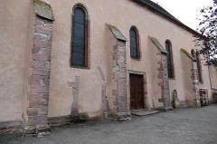 Eglise catholique des Saints-Innocents - Français:   Alsace, Bas-Rhin, Église des Saints-Innocents de Blienschwiller (PA00084626, IA00115160).