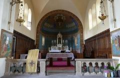 Eglise catholique des Saints-Innocents - Français:   Alsace, Bas-Rhin, Église des Saints-Innocents de Blienschwiller (PA00084626, IA00115160).  Vue sur le chœur.