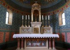 Eglise catholique des Saints-Innocents - Français:   Alsace, Bas-Rhin, Église des Saints-Innocents de Blienschwiller (PA00084626, IA00115160).  Maître-autel.