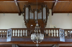 Eglise catholique des Saints-Innocents - Alsace, Bas-Rhin, Église des Saints-Innocents de Blienschwiller (PA00084626, IA00115160).   Orgue Rohrer-Mockers-Rinckenbach-Kriess (1734-1911).        This object is classé Monument Historique in the base Palissy, database of the French furniture patrimony of the French ministry of culture, under the references PM67000995, buffet PM67000996 buffet and IM67005396. brezhoneg | català | Deutsch | English | español | français | italiano | magyar | македонски | Plattdüütsch | português | suomi | +/−