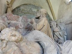 Chapelle avec Mont des Oliviers -  Alsace, Bas-Rhin, Boersch, Chapelle avec Mont des Oliviers (1602) (PA00084628, IM67001384).