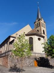 Eglise catholique Saint-Médard -  Alsace, Bas-Rhin, Église Saint Médard de Boersch (PA00084630, IA00075462).