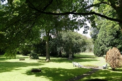 Jardin de l'Hôpital - Français:   Alsace, Bas-Rhin, Bouxwiller, Jardin de l'hôpital (XVIIIe), 3 rue du Canal (PA00084647, IA67009588).