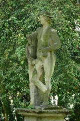 Jardin de l'Hôpital - Français:   Alsace, Bas-Rhin, Bouxwiller, Jardin de l'hôpital (XVIIIe), 3 rue du Canal (PA00084647, IA67009588).  Statue de Mercure (1710):       This object is indexed in the base Palissy, database of the French furniture patrimony of the French ministry of culture,under the referenceIM67014034. беларуская (тарашкевіца)| brezhoneg| català| Deutsch| English| español| suomi| français| magyar| italiano| македонски| Plattdüütsch| português| українська| +/−