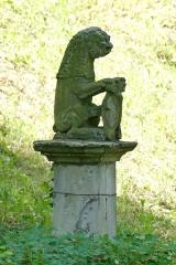 Jardin de l'Hôpital - Français:   Alsace, Bas-Rhin, Bouxwiller, Jardin de l'hôpital (XVIIIe), 3 rue du Canal (PA00084647, IA67009588).  Statue de lion (XVIe-XVIIe):       This object is indexed in the base Palissy, database of the French furniture patrimony of the French ministry of culture,under the referenceIM67014031. беларуская (тарашкевіца)| brezhoneg| català| Deutsch| English| español| suomi| français| magyar| italiano| македонски| Plattdüütsch| português| українська| +/−