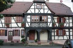 Maison - Français:   Bouxwiller, Bas-Rhin: le Kaufhaus