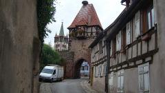 Restes du château -  La tour des Sorcières, Châtenois