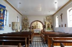 Eglise catholique Saint-Laurent - Français:   Alsace, Bas-Rhin, Église Saint-Laurent de Dieffenbach-au-Val (PA00084692, IA67010431). Vue intérieure de la nef vers le chœur.