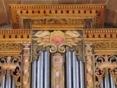 Eglise protestante Saint-Laurent - Alsace, Bas-Rhin, Église protestante Saint-Laurent de Dorlisheim (PA00084695, IA67011177).  Orgue néo-Renaissance de Rémy Mahler (2006): http://decouverte.orgue.free.fr/orgues/Orgue St-Laurent, Dorlisheim