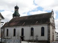Eglise Saint-Martin - L'église Saint-Martin d'Ebersheim