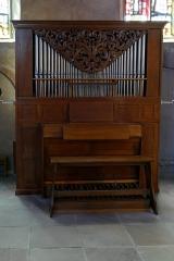 Eglise Saint-Georges - Alsace, Bas-Rhin, Église Saint-Georges de Haguenau (PA00084724, IA00061901). Petit orgue de chœur.
