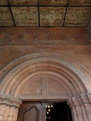 Eglise Saint-Georges - Alsace, Bas-Rhin, Église Saint-Georges de Haguenau (PA00084724, IA00061901).