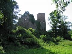 Vestiges du château de Landsberg - Français:   Château du Landsberg à Heiligenstein (Bas-Rhin, France).