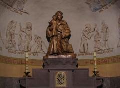 Eglise Saint-Pierre-et-Paul - Alsace, Bas-Rhin, Église Saints-Pierre-et-Paul de Hohatzenheim (PA00084751, IA67009140). Autel secondaire