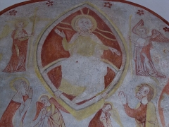 Eglise Saint-Remi - Alsace, Bas-Rhin, Église Saint-Rémi d'Itterswiller (PA00084756, IA00115366).  Fresque gothique