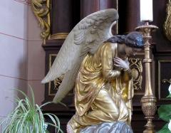 Eglise catholique Saint-Jacques-le-majeur - Alsace, Bas-Rhin, Église Saint-Jacques-le-Majeur de Kuttolsheim (PA00084766, IA67006341).  Maître-autel
