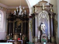 Eglise catholique Saint-Jacques-le-majeur - Alsace, Bas-Rhin, Église Saint-Jacques-le-Majeur de Kuttolsheim (PA00084766, IA67006341).  Autel secondaire