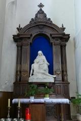 Eglise catholique de la Trinité - Alsace, Bas-Rhin, Église de la Sainte-Trinité de Lauterbourg (PA00084770, IA67008823).  Autel secondaire