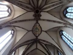 Ancienne abbaye bénédictine - Français:   Alsace, Bas-Rhin, Abbatiale Saint-Étienne de Marmoutier (PA00084783, IA67007715). Voûtes du chœur (XVIIIe).