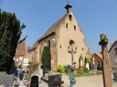 Cimetière - Français:   Alsace, Bas-Rhin, Marmoutier, Chapelle de cimetière Saint-Denis (PA00084785, IA67007725).