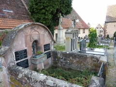 Cimetière - This building is inscrit au titre des monuments historiques de la France. It is indexed in the base Mérimée, a database of architectural heritage maintained by the French Ministry of Culture,under the reference PA00084785 .
