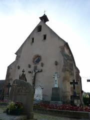 Cimetière - Français:   chapelle